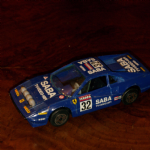 1:43 Burago Ferrari 308 GTB 1980's  Diecast model (BLUE) NO 32 SABA racing @sold@
